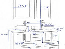 Minimum Bathroom Counter Depth by Scintillating Door Standard Height Gallery Best Inspiration Home
