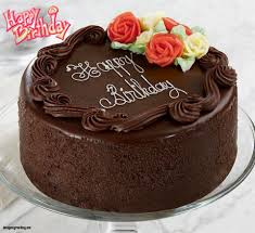 Happy Birthday Chocolate Cake With Name Editor Happy Birthday Cake Edit Name Birthday Cake Decoration