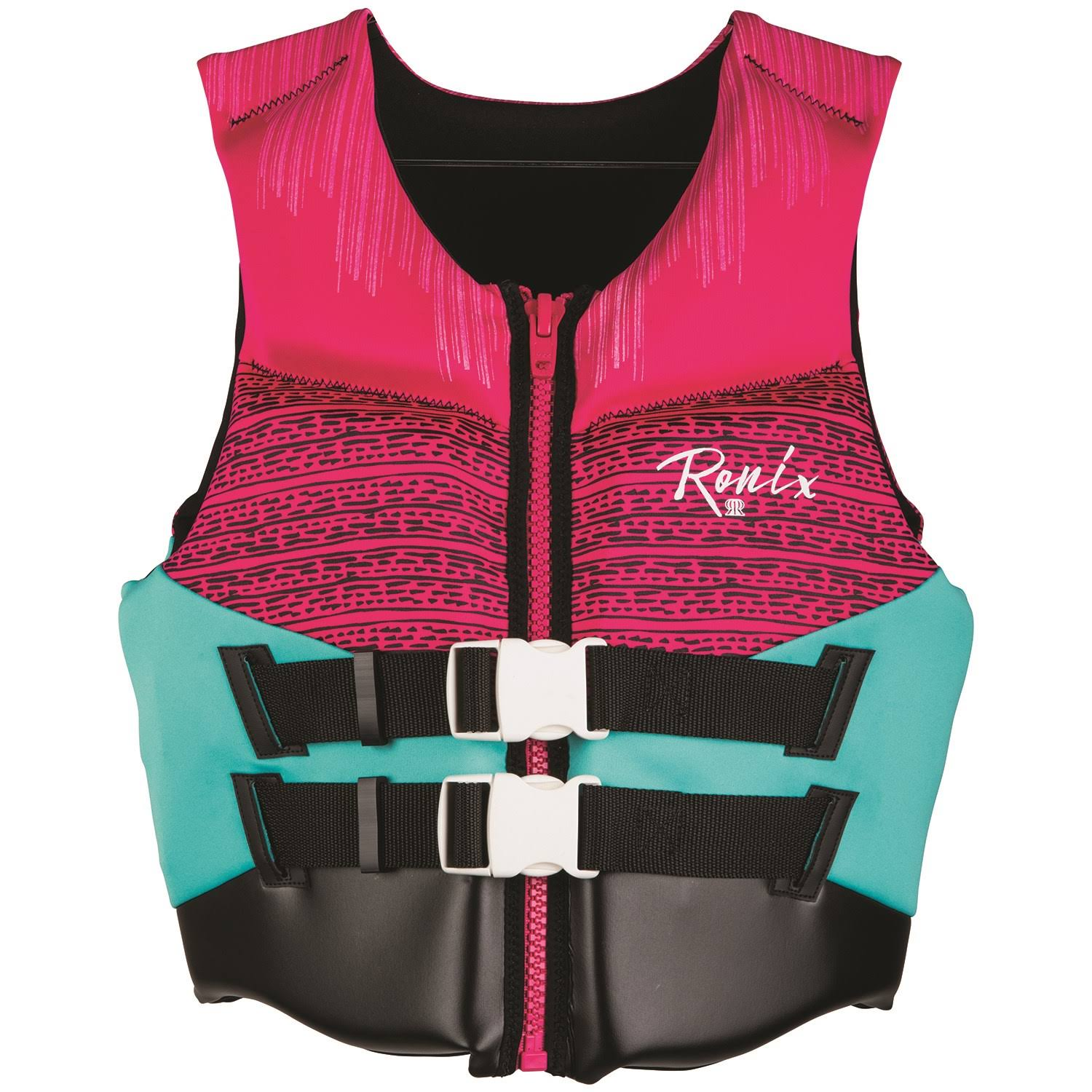 Ronix Daydream Women's - CGA Life Vest - Pink/Turquoise (2020)