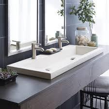 Drop In Bathroom Sinks Canada by Bathroom Sink Double Sink Vanity Narrow Bathroom Sink Stainless