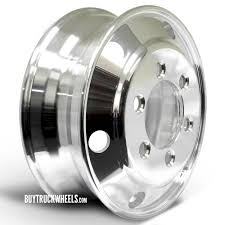 100 Npr Truck 195 X 6 Aluminum Polished 6Lug Stud Pilot Budd Wheel Buy