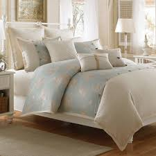 Bed Bath Beyond Duvet Covers by Coastal Life Luxe Seashell Duvet Cover 100 Cotton Bed Bath