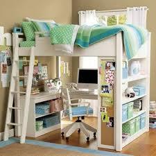 Double Loft With Desk Underneath Full Size Beds Desks Bunk