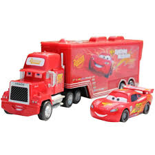 Obral Pixar Car No.95 Mack Racers Truck Lightning McQueen Toy Cars ...