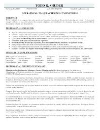 Manufacturing Job Resume Samples Engineer Are Really Great Examples Of And