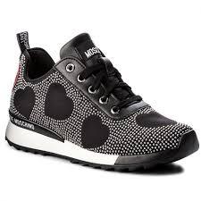 Sneakers LOVE MOSCHINO JA15042G16IH0000 Nero Schwarz