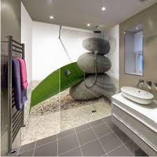 carrelage salle de bain zen 9 galets 3 panneaux vos cr233dences
