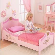 Pink Princess Styled Toddler Bed