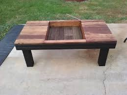 Unique In Design Pallet Coffee Table