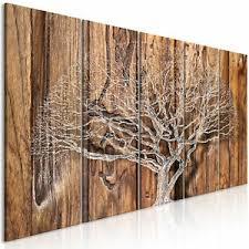 deko bilder drucke aus holz mit natur thema fürs