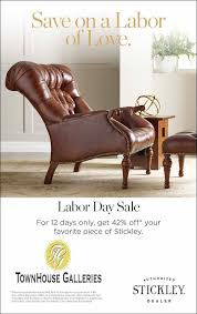 Stickley Furniture Leather Recliner by Townhouse Galleries Quality Furniture Huntsville Decatur