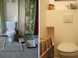 Paris Apartment Renovation Toilet Before And After