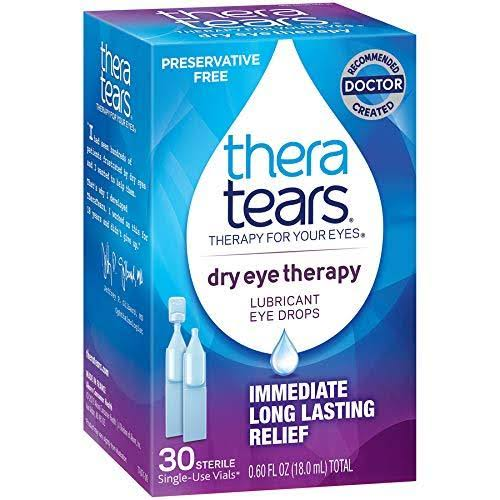 Thera Tears Eye Drops, Lubricant - 30 sterile, 0.60 fl oz