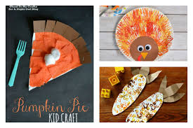 8 Fun And Easy Thanksgiving Crafts For Preschool Kids Beyond Tracing A Hand To Look Like
