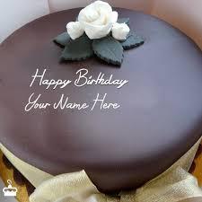 Write Name on Cake Beautiful Chocolate Cake With Name