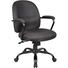 Fabric Task Chair Walmart by Boss Heavy Duty Task Chair With Padded Arms Walmart Com