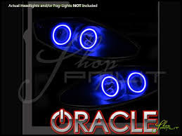 07 12 gmc acadia led dual color halo rings headlights bulbs