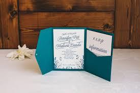 Teal Wedding Invitation Kits Ideas Invitations