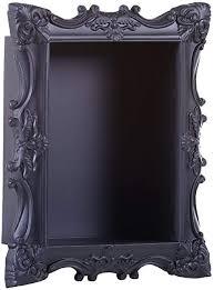 casa padrino barock hängeschrank vintage schwarz 42 x 18 x h