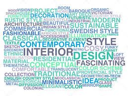 100 Words For Interior Design