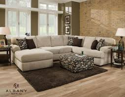 Poundex Bobkona Sectional Sofaottoman by 522 Warren Camel Sectional By Albany Lowest Price Savvy