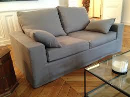 housse de canapé cuir beautiful canapé cuir sur mesure architecture