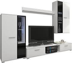 Anbauwand Wohnzimmer Mã Bel Tv Möbel Schrankwände Möbel Wohnen Wohnwand Hugo