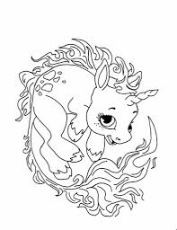 Cute Unicorn Coloring Pages Coloring Pagesgeneral Pinterest With