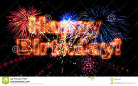 High Quality Happy Birthday Animation HD Stock Video Video of party midnight