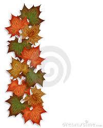 Fall Pumpkin Border Autumn Fall Leaves Border Jpg Ycbxj4 Clipart