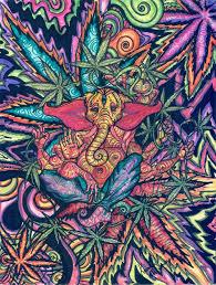 trippy drugs buddha elephant draw this buddha