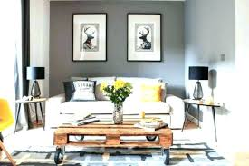 Grey Accent Wall Living Room Colors Gray
