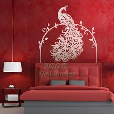 Peacock Wall Art Decor Stickers Diy Home Decoration Removable Vinyl Decal
