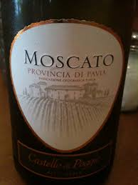 The bartender let us try this Moscato and it is so delicious and