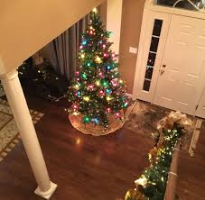 4ft Pink Pre Lit Christmas Tree by The Vintage Pre Lit Christmas Tree With Traditional And Round