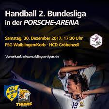 FSG 1 In Der PorscheArena SC Korb Handball
