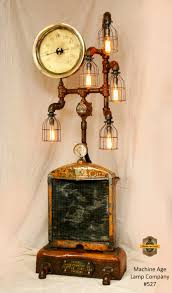 Zelda Triforce Lamp Amazon by Steampunk Minneapolis Moline Farm Steam Gauge Lamp Floor Sold
