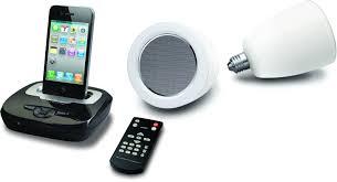 audiomotion led light bulb speaker system light bulb