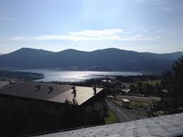 vue du balcon photo de les chalets de l isard les angles