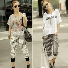 Korean Street Summer Wear Women Style U