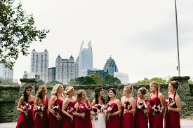 Piedmont Park Parking Garage Address by Scobey Photographyan Elegant Piedmont Park Wedding Scobey