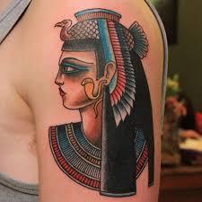 Mysterious Egyptian Mythology Tattoos