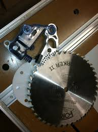 Sawstop Cabinet Saw Used by Saw Stop And A Glove