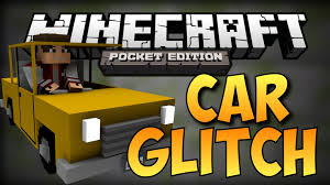 HOW TO MAKE RIDE A CAR IN Minecraft Pocket Edition GLITCH No Mods