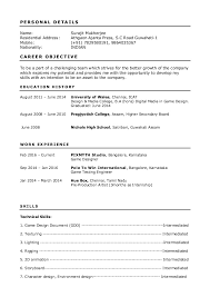 Sample Fashion Resume Template Info Breakupus Magnificent Samples The Ultimate Guide Livecareer With Alluring