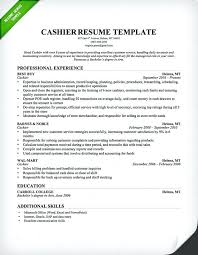 Cage Cashier Resume Objective Sample Writing Guide Genius Template Professional