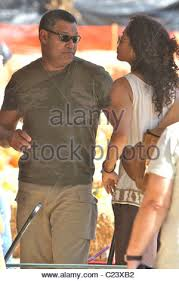 Lawrence Pumpkin Patch by Lawrence Fishburne Wife Gina Torres And Daughter Delilah