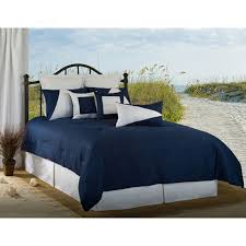 Latitude 11 Navy Blue and White Nautical Bedding