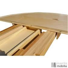 table ronde haut de gamme bois massif essentia mobilia