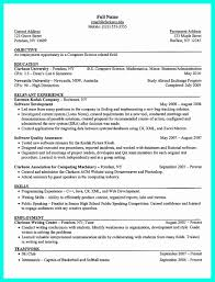 Computer Science Student Resume Beautiful The Best Puter Sample Collection